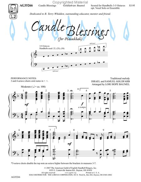 Candle Blessings